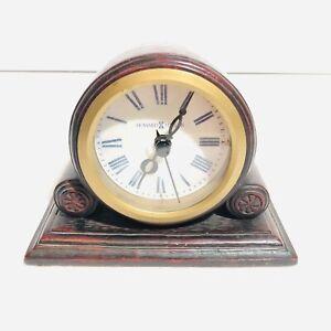 HOWARD MILLER 645-411 BELLAGIO TUSCANY COLLECTION QUARTZ DESK/MANTEL CLOCK