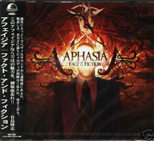 Aphasia - Fact and Fiction - Japan CD+2BONUS - NEW