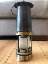 Brass And Steel Miners Lamp