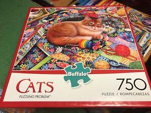Buffalo - 750 Piece Jigsaw - PUZZLING PROBLEM (Cats)