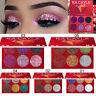 6 Colori Giltter trucco Ombretto Ombretto Palette Cosmetic Set Eye Shadow Caldo