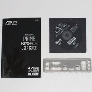 ASUS Prime H270-PLUS - SET Handbuch ATX IO Shield Slotblende Treiber CD (#9819)