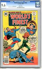 World's Finest   #242   CGC   9.6   NM+   White pages  12/76   Bob Haney story
