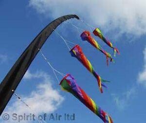 6m Flagpole Sleeve - Fly up to 7 Windsocks
