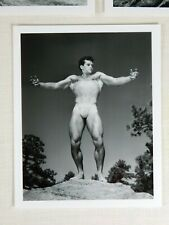 Beautiful Set! Don Whitman Physique Photography, Male Nude Set, 1950's Images