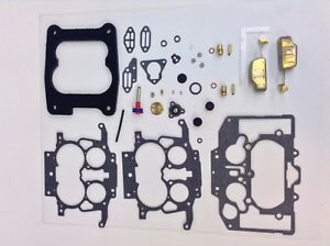 CARTER THERMOQUAD CARB KIT 1978-1984 CHRYSLER DODGE PLYMOUTH V8 FLOATS