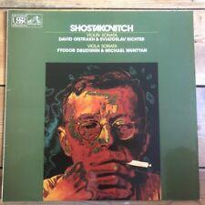 HQS 1369 Shostakovich Violin Sonata / David Oistrakh & Sviatoslav Richter
