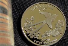 2008-S San Francisco Mint Proof Oklahoma State Quarter