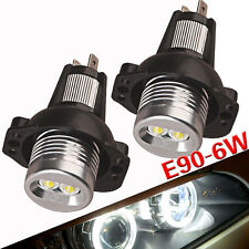 E90 E91 05-08 CREE 6W Angel Eyes LED Halo Ring Marker Light For BMW 3 Series