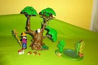 Playmobil Spielset aus 3897 Zauberbaum & Zubehör Konvolut