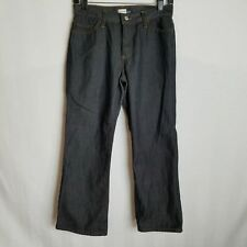 Gap Womens Black Trouser Flare Pants Jeans Size 4 28x26 J412