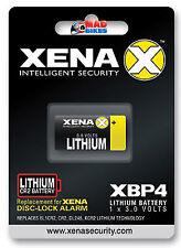 Xena XBP4 Lithium Battery For Xena Alarm Disc Locks XX14, XZZ6, All XX Series