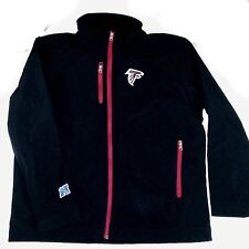 NEW! GIII  NFL Atlanta Falcons Black Jacket XL