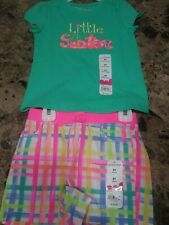 Jumping Beans Toddler Girls 2 Piece Seperates Outfit NWT! Size 4t