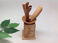 Chinese Tea Tool Basket Gongfu Tea Utensil Set/6Pcs