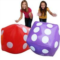 Large Inflatable Blow Up Dot Dice Kids Party Favours Outdoor Pool Toys Funny New