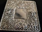 1868-1890 S Kirk & Son Floral Repousse late 11oz Mark