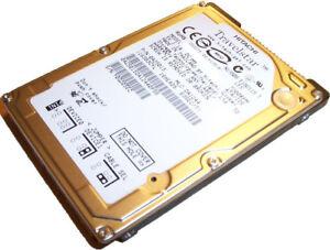60 GB Ide Hitachi Travelstar 5K160 HTS541660J9AT00 Hard Drive New