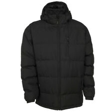 Trespass Clip Mens Heavy Weight Quilted Puffer Coat with Zip Off Hood