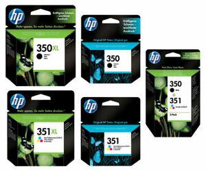 HP 350 351 Pack / 350XL NOIRE 351XL Tricouleur Cartouche d'encre Combo