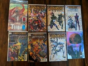 War of the Realms Event Complete Lot, All Tie-Ins. 65 Issues, connecting 10!