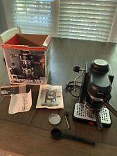Krups Espresso Maker Coffee Machine Cappuccino Mini Type 963 Black Switzerland