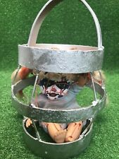 Haunted house prop doll halloween creepy Handmade Shock Cage Electrocution