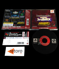 BEAT MANIA APPEND 3RDMIX DJ SIMULATION GAME Playstation PSX Play Station PS1 JAP
