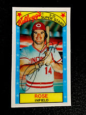 1979 KELLOGG'S PETE ROSE REDS #22 VIVID COLOR HIGH GLOSS CENTERED NR-MINT+++