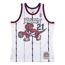 Мужские Торонто Рэпторс Маркус Кэмби Mitchell & Ness белый 1997-98 Hwc Nba Jersey
