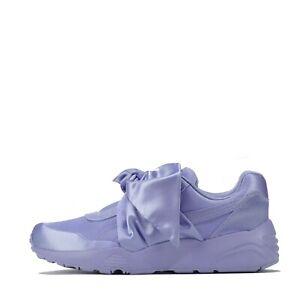 Puma X Fenty Bow Sneaker Women's Trainers Shoes Lavender UK 4