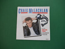 Craig McLachlan LP Single Grease incl. 1994 Kalender Poster Musical