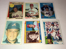 Tom Seaver Lot Of 6 Different Mets White Sox Etc Baseball Cards Member HOF C25