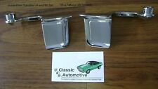 Door Handles Set Inside Chrome 59-67 Impala Caprice Cutlass Skylark Olds Buick