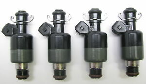 Set of 4 BRAND NEW Delphi Upgrade Injectors, 1991-92 Lotus Elan & Isuzu Impulse