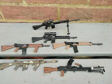 1/6 scale Custom Vintage Actionman SLR  L1A1  rifles and bren 303