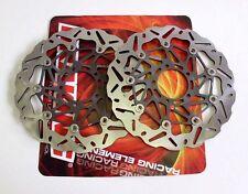 BRAKING COPPIA DISCHI FRENO ANTERIORI WK001 PER BENELLI TNT R160 1130 2011