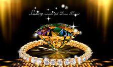 Perfect 24K Gold Plated Swarovski Element AAA Cubic Zirconia Bracelet Women Gift