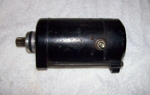 Kawasaki ZX 10 Starter Motor pt number - 21163-1126 In Good Condition.