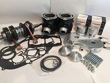 Banshee 64mm Stock Cylinders Cool Head Top Bottom End Complete Motor Rebuild Kit