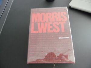 L'AMBASSADEUR Morris West Original Numéroté Édit PLON 1965 CNL Rhodoïd