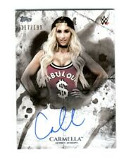 WWE Carmella 2018 Topps Undisputed On Card Autograph SN 117 of 199