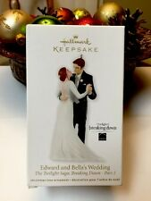 Edward and Bella's Wedding - 2012 Hallmark Ornament Twilight Saga Breaking Dawn