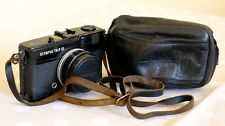 Olympus Trip 35 black fully working in excellent condition leather case lens cap