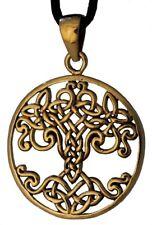 Varuna Keltischer Lebensbaum Anhänger Bronze Gothic Schmuck - NEU