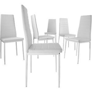 6er Esszimmerstuhl Set Stühle Küchenstuhl Hochlehner Wartezimmer Stuhl B-Ware