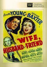 Wife Husband & Friend - Region Free DVD - Sealed