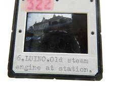 VINTAGE  1989 ERA  LUINO  STEAM ENGINE  RAILWAY   SLIDE