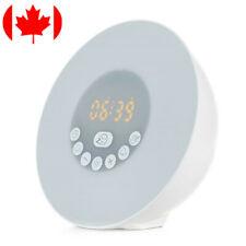 Sunrise Alarm Clock Radio Wake Up Light Digital FM Natural Bedroom Bluetooth