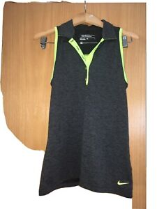 Nike Golf Women's Dri-Fit size S Collared Shirt No  Sleeve